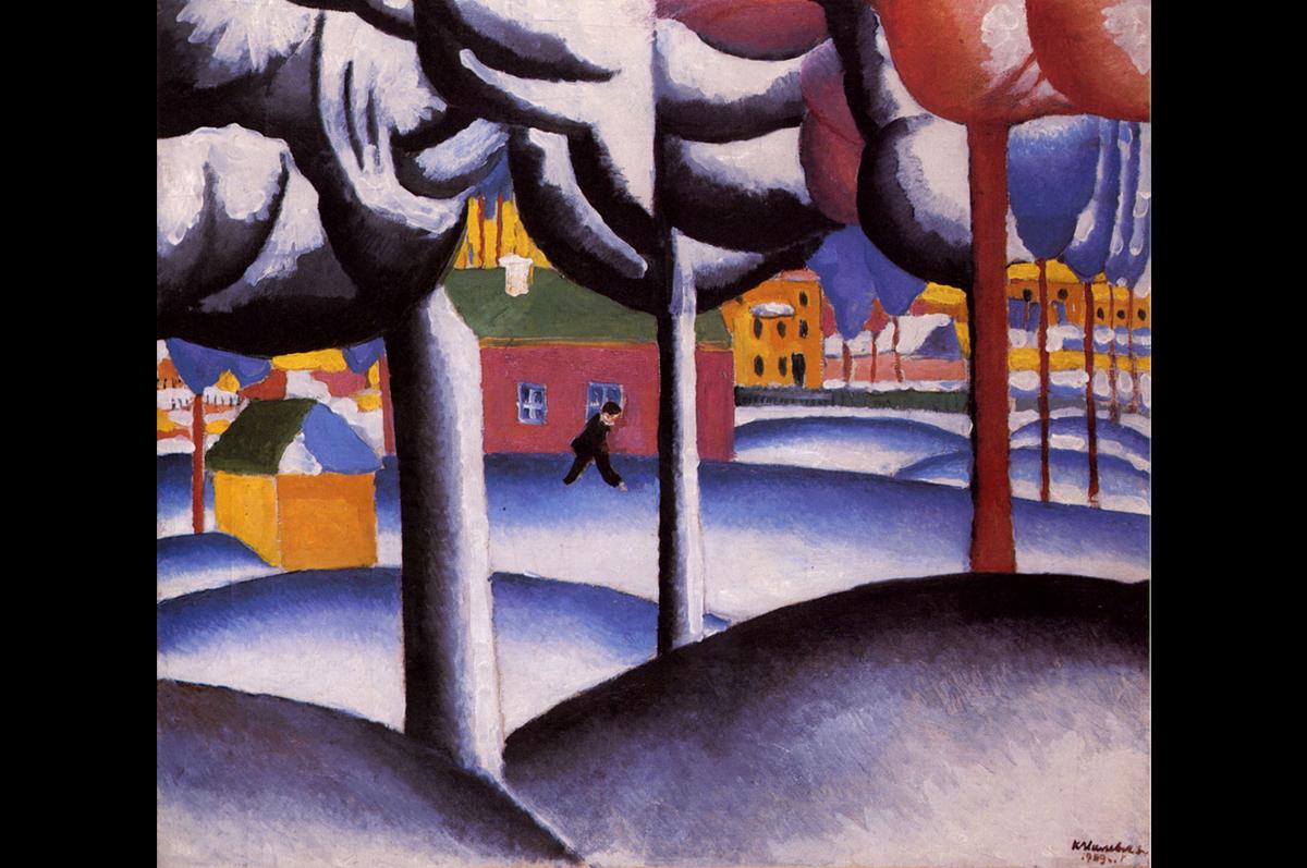 Казимир Малевич. Зимний пейзаж, ок. 1930. Музей Людвига в Кёльне.