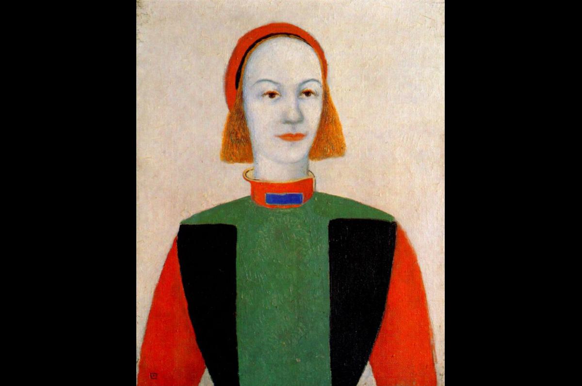 Казимир Малевич. Голова совоременной девушки, 1932. Холст, масло / Государственный Русский музей, Санкт-Петербург