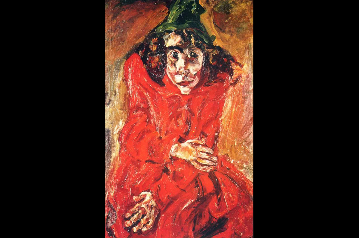 Хаим Сутин. Безумная женщина, 1919