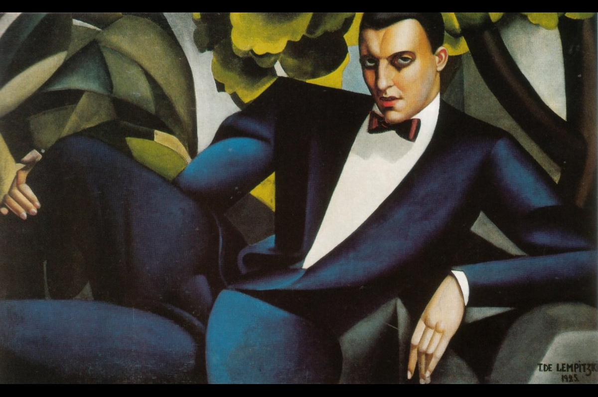 Тамара Лемпицка. «Портрет Портрет маркиза Д'Аффлито», 1925