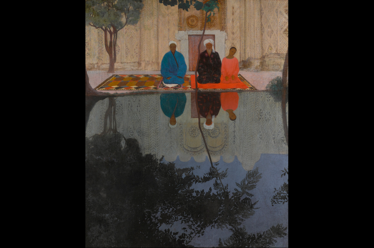 Даниил Степанов. «Молитва в Самарканде», 1925